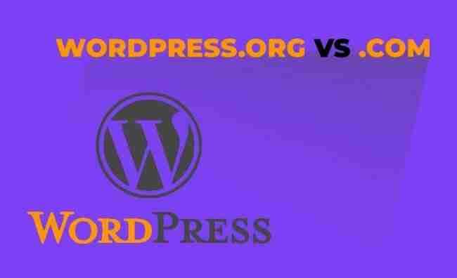 Le 3 differenze principali tra WordPress.org e WordPress.com